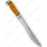 """Нож """"Боярин"""". Рукоять карельская береза. Алюминий"""
