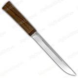 """Нож """"Бурятский средний"""". Рукоять орех"""