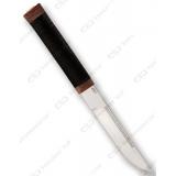 """Нож """"Бурятский малый"""". Рукоять кожа"""