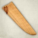 """Нож """"Мясницкий"""" - деревянные ножны к ножу. Береза"""