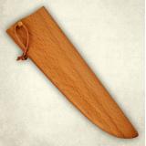 """Нож """"Мясницкий"""" - деревянные ножны к ножу. Бук"""