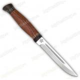 """Нож """"Финка-3"""". Рукоять орех"""