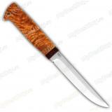 """Нож """"Финка-5"""". Рукоять карельская береза"""