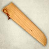 """Нож """"Для нарезки ветчины"""" - деревянные ножны к ножу. Береза"""