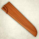 """Нож """"Для нарезки ветчины"""" - деревянные ножны к ножу. Бук"""