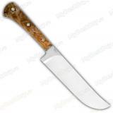 """Нож """"Пчак-Н"""". Цельнометаллический. Кап ореха. Мозаичные пины"""