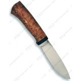 """Нож """"Пилигрим"""". Рукоять карельская береза"""