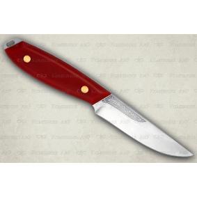 """Нож """"Жулан"""". Цельнометаллический. Микарта"""