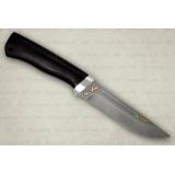 """Нож """"Бекас"""" подарочный. Рукоять граб. Алюминий. Белый дамаск"""