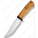 """Нож """"Клычок-1"""". Рукоять карельская береза"""