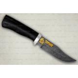 """Нож """"Клычок-1"""" подарочный. Рукоять граб. Алюминий. Белый дамаск"""