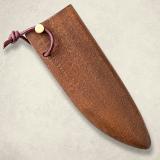 """Нож """"Овощной малый"""" - деревянные ножны к ножу. Бук"""
