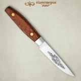 """Нож """"Овощной малый"""". Цельнометаллический. Орех"""