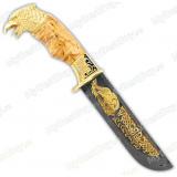 """Нож подарочный """"Вавилон"""". Сюжет """"Орел"""". Дамаск"""