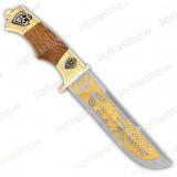 """Нож подарочный """"Вавилон"""". Сюжет """"Медведь"""""""