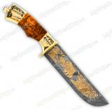 """Нож подарочный """"Вавилон"""". Дамаск"""