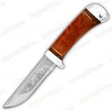"""Нож """"НС-62"""". Рукоять дерево. Алюминий"""
