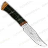 """Нож """"Багира 2"""". Рукоять кожа"""