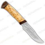 """Нож """"Багира 2"""". Рукоять карельская береза"""
