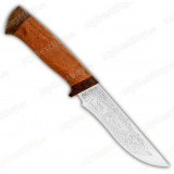 """Нож """"Лиса"""". Рукоять дерево"""