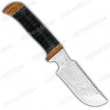 "Нож ""Гарпун"". Рукоять кожа. Пила"