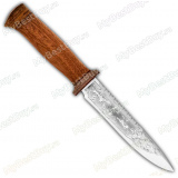 "Нож ""Диверсант"". Рукоять дерево. Пила"