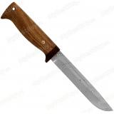 """Нож """"Разведчик"""". Клинок белый дамаск. Рукоять дерево"""