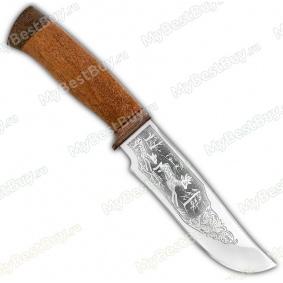 """Нож """"Бивень"""". Рукоять дерево"""