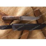 Нож из булата Лапшина №4. Кап ореха