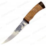 """Нож """"Восточный"""". Рукоять береста"""