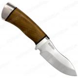 """Нож """"Пушной"""". Рукоять орех. Алюминий"""
