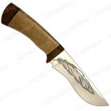 """Нож """"Тунгус"""". Рукоять орех"""
