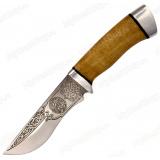 "Нож ""Тунгус"". Рукоять орех. Алюминий"