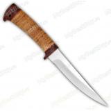 "Нож ""Амиго"". Рукоять береста. Без гравировки"