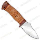 """Нож """"Жало"""". Рукоять береста. Без гравировки"""