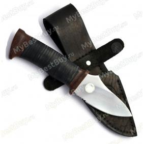 """Нож """"Жало"""". Рукоять кожа"""