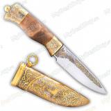 """Нож """"НС-03"""" подарочный. Металлические ножны"""