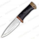 """Нож """"НС-25"""". Рукоять кожа"""