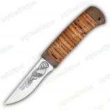 """Нож """"НС-71"""". Рукоять береста"""