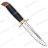 """Нож """"Финка Вачинская"""". Рукоять граб. Латунь"""