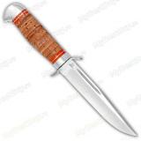 """Нож """"Воин"""". Рукоять береста. Алюминий"""
