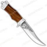 """Нож """"Барсук"""". Рукоять орех"""