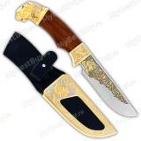 """Нож """"Леопард"""" подарочный"""