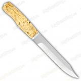 """Нож """"Армейский"""". Рукоять карельская береза"""