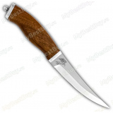 """Нож """"Кефаль"""". Рукоять орех"""