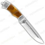 """Нож """"Пума"""". Рукоять кап березовый. ФСБ"""