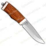 """Нож """"Бекас"""". Рукоять бубинго. Рог лося"""