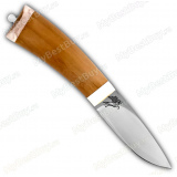 "Нож ""Малек-2"". Рукоять бук. Рог лося."