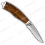 """Нож """"Златко"""". Рукоять орех"""
