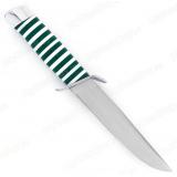 """Нож """"Чекист"""". Рукоять акрил. Зеленый"""